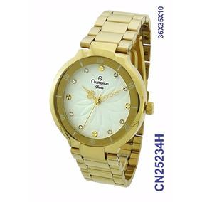 9d589c1c4a0 Relogio Feminino Dourado Champion - Relógio Champion Feminino em ...