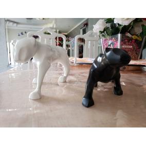 2 Esculturas Leopoldo Martins - Felinos (tigre Andando, Puma