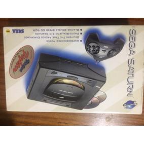Sega Saturn Pistola Controle 3d Caixa Memoria 4mplus Etc
