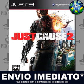 Jogo Ps3 Just Cause 2 Psn Play 3 Mídia Digital
