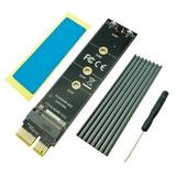 Adaptador Pci Express 3.0 X1 Slot A Ssd M.2 Nvme Interface