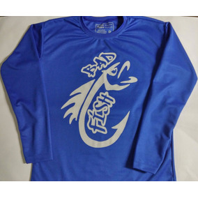 c5260e9fdb Camiseta Manga Longa Protetor Solar Adidas - Camisetas no Mercado ...
