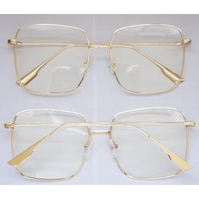 Armaçao De Grau Dourado Armacoes Dior - Óculos no Mercado Livre Brasil 25d8689186
