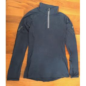 Preciosa Blusa Gap Fit Body Azul Stretch Xs Original!!