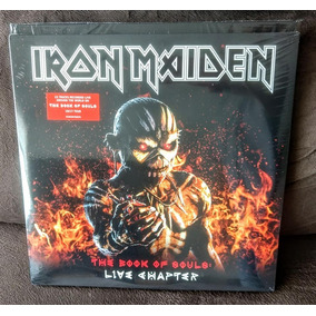 Iron Maiden - The Book Of Souls Live Chapter (3 Lps, Novo)