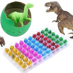 60 Huevo Dinosaurio Crece Agua Económico Juguete Piñata Bolo