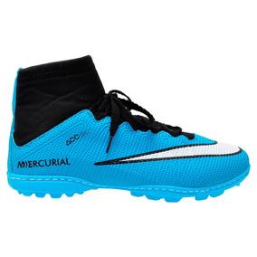 dc6433140ec64 Chuteiras Nike De Birro Cano Longo - Chuteiras Grama sintética Azul ...