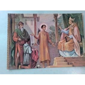 Cartão Postal - Detalhes Do Forro Da Igreja - Canindé - Ce -