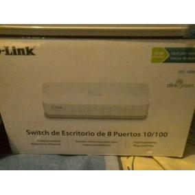 Switch De Red 8 Puertos D-link