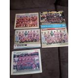 Lote Coleção 5 Posters Do Fortaleza Ceará Futebol Placar