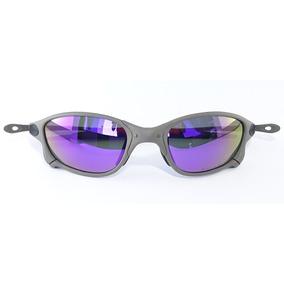 Oakley Double X Lente Roxa De Sol Juliet - Óculos no Mercado Livre ... e076ec4cfb