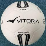Bola Futsal Vitoria Oficial Prata Max 500 Resistente f4edbef15bd2a