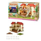 Casa Ciudad Con Luces Sylvanian Families + 5 Habitaciones-ub