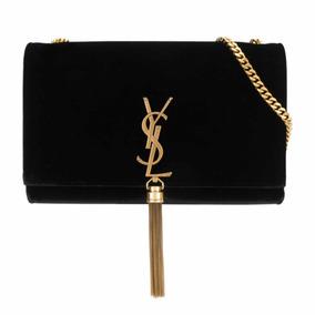 Bolsa Yves Saint Laurent Paris Authentic Com Caixa E Cards