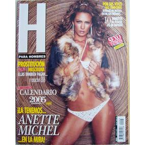 Anette Michel. Revista H.