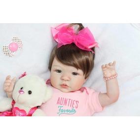 44303e852 Bebe Reborn Larissa Versolato Barato - Bonecas Reborn no Mercado ...