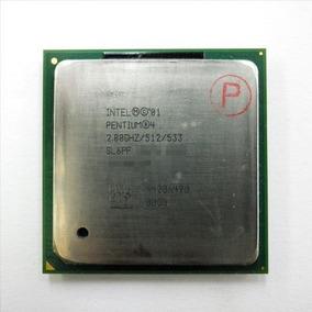 Procesador Intel Pentium 4 2.8ghz/512/533 Sl6pf Socket 478