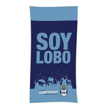 Toallon Gimnasia La Plata Algodon Lic Oficial Toalla Pileta