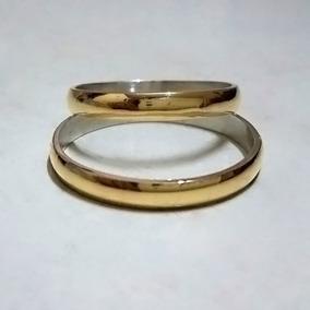 5e9008be32354 Par Alianzas Plata 925 Oro 18k - Casamiento Matrimonio Boda