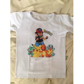 Camiseta Infantil Pokémon