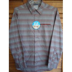 Columbia Camisa Talla Lg Sun Protection Térmica