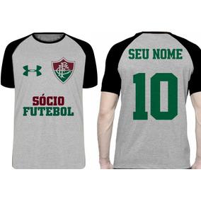 af288a9f19 Camisa De Time De Futebol Do Fluminense Personalizada - Calçados ...