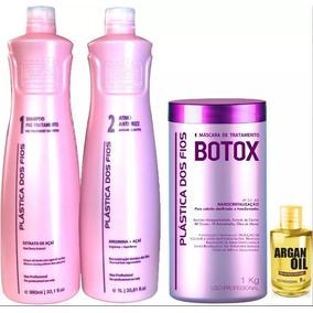 Combo Plástica Dos Fios Nova - Kit Progressiva P1 P2 + Botox
