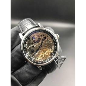 Relógio P Philippe Couro Preto