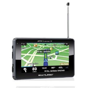 Navegador Multilaser Gpstracker 4,3 + Tv + Fm