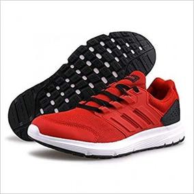 52f813cf0d93d Tenis adidas Galaxy 4 Rojo Training Gym Hombre Originales
