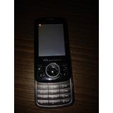 Celular Sony Ericsson W100i Preto