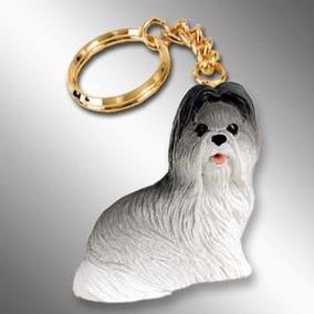 Cachorro Shi Tzu Adulto Chaveiro Importado Miniatura Cães