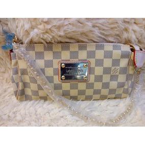 Bolsa Louis Vuitton Original Eva Clutch Marrom Damier Ebene ... 33ff59699ab