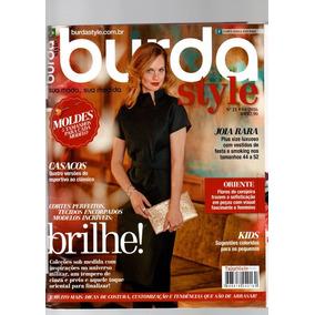 Revista Burda Style Com Caderno Nº04 Nº3336