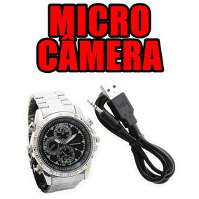 8f01c7da6ef Relogio De Pulso Com Camera Escuta Espionagem Comprar Camara
