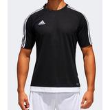 5496d6811293a Camiseta adidas Climalite Estro 15 Preta branca
