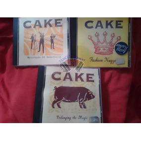 3 Álbumes En Cd - Cake - ¡envío Gratis A Todo El País!