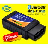 Scanner Automotriz Universal Bluetooth Obd2 Elm27 Torque Pro