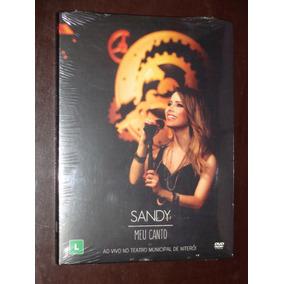 Dvd Sandy Meu Canto Ao Vivo No Teatro Municipal Lacrado !