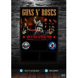 Cuadro Para 3 Entradas // Guns N´ Roses