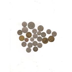 Lote Coleção 24 Moedas Diferentes De Réis De 1901 A 1942