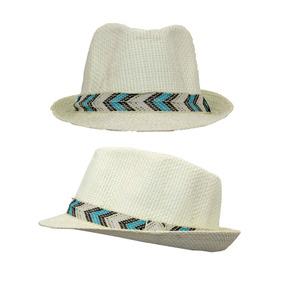 Sombrero Casual Color Crema Unisex 6-10 Años 03482