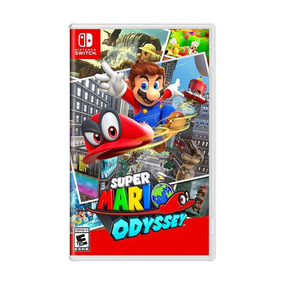 Jogo Super Mario Odyssey Nintendo Switch Fisica Lacrado