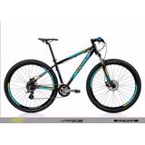 Bicicleta Aro 29 Sense Fun 2018 Tm 17 Pto/azul/amar