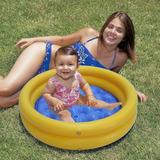 Banheira Inflável Infantil Piscina Bebê 40 Litros Soft