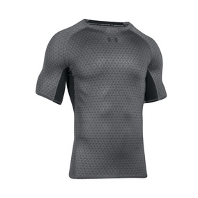 Remera Under Armour Training Ua Hg Armour Printed Hombre Go