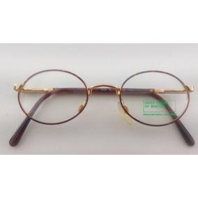Armação Benetton Dourada Com Detalhes Oculos Tiffany - Óculos no ... 7c56ae6ea3