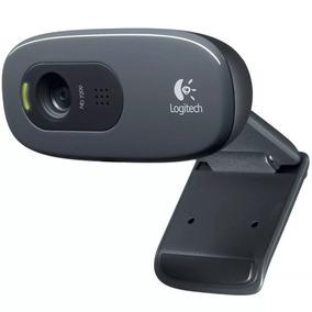 Câmera Web Logitech C270 Hd 720p 3 Mpx Video Pc Notebook