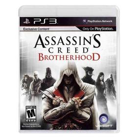 Assassins Creed Ps3 Brotherhood Playstation 3 Original Novo