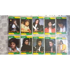 Série Rara Michael Jackson 2008 (10 Cartões) China Tietong